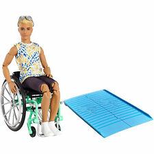 Barbie Ken in Wheelchair Magwx930 From Tates Toyworld