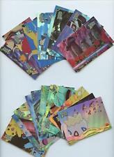 Topps Pokemon the Movie 2000 Rainbow Foil 72-Card Set Pikachu Lugia ++