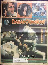 """"""" NFL Dallas Cowboys Official Weekly Magazine October, 20, 1984; Vol. 10, No.19"""