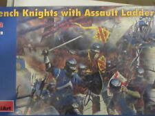 1/72 Medieval French Foot Soldiers with Assault Ladders Miniart