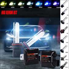 55W H7 HID Kit Xenon Headlight 6000K Conversion Bulbs with DC Slim Ballast AU