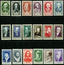 FRANCE 1949-1956 -FAMOUS PEOPLE  - VF**