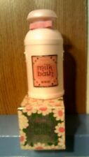 Rhtf Vtg Avon Milk Bath- Pink Milk Can Decanter -6 Oz - New In Box-Free Shipping