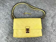 LOUIS VUITTON Citrine Monogram Empreinte Leather Fascinante Shoulder Bag M40807