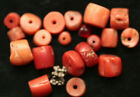 Lot of 20 Tibetan Antique Coral Beads Size: Large 8 mm Approx