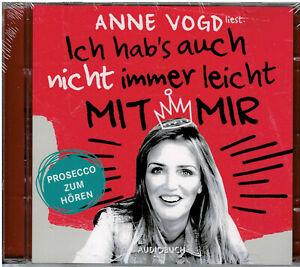Ich hab's auch nicht immer leicht mit mir von Anne Vogd (Audio-CD) - NEU & OVP