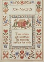 1980 Creative Expressions Hallmark Cross Stitch Kit 7811 Memories are Forever