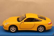 Modellauto/Maisto/Power Racer/Pullback / Porsche Carrera 4S / gelb /3+ / OVP