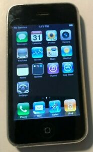Apple iPhone 3G - 16GB - Black (AT&T) A1241 (GSM) Fast Ship Very Good Used
