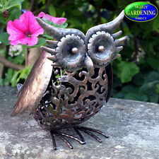 Metal Silhouette Owl Solar Light - Smart Garden Products