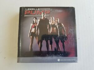 Les Mills PUMP BEACHBODY 7-Disc Fitness DVD Set SEALED. BRAND NEW
