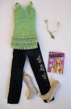 Lot Disney Hannah Montana Doll Miley Cyrus SONG WRITING SWING Outfit Clothes set