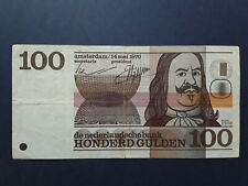 100 Gulden Niederlande Netherlands Holland 1970
