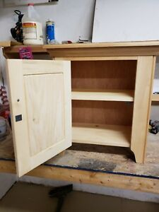 Unfinished Cabinets For Sale (24in Tall, 12in Deep, 20in Wide (Solid Pine)