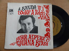 """DISQUE 45T DE  HERB ALPERT & THE TIJUANA BRASS   """" IF I WERE A RICH MAN """""""