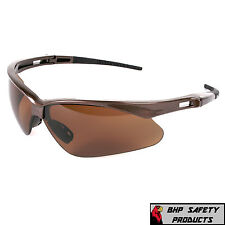 27a1bb4a1e JACKSON SAFETY NEMESIS V30 BROWN POLARIZED LENS DRIVING SAFETY SUNGLASSES  28637