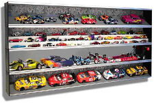 Universal 1:24, 1:32, 1:43, 1:64 Diecast Wall Display Case Expandandable Sealed