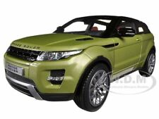 RANGE ROVER EVOQUE GREEN 1/18 DIECAST CAR MODEL BY WELLY 11003