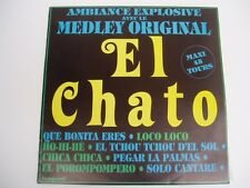 "EL CHATO - Ambiance Explosive - 12"" 45 medley LP"
