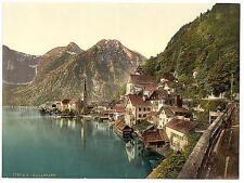 Hallstatt Upper Austria A4 Photo Print