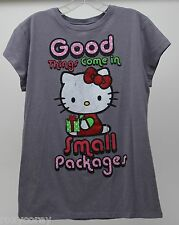 Sanrio Hello Kitty Good Things Come in Small Packages T-Shirt Women Size XLarge