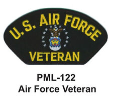 """4"""" - NEW AIR FORCE VETERAN Embroidered Military Large Patch"""