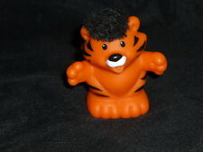 Fisher Price Little People Touch N Feel Tiger Black Hair