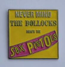 Sex Pistols Quality Enamel Lapel Pin Badge