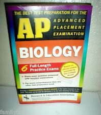AP BIOLOGY REA College Entrance 6 Full Practice Exams with DETAILED Answers