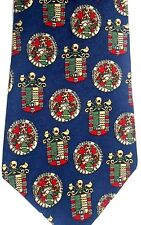 """Tommy Hilfiger Men's Silk Tie 58.5"""" X 4"""" Really Cool Coats-of-Arms"""