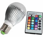 10W RGB Magic Lamp E27 LED 16 Color Changing Light Bulb + IR Remote Control