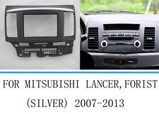 Car Stereo Radio Fascia Panel Trim 2 Din For Mitsubishi Lancer 2007-2015