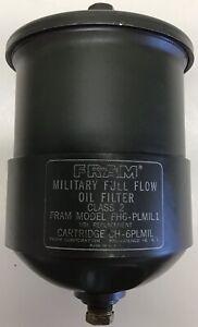 Vintage Fram FH6-PL High Flow Oil Filter VW Porsche Performance Upgrade