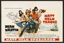 AMBUSHERS Belgian movie poster DEAN MARTIN MATT HELM Robert McGINNIS