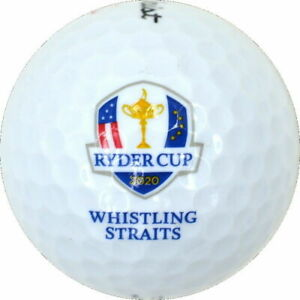 2020 2021 RYDER CUP (WHISTLING STRAITS) Titleist DT TRUFEEL Logo GOLF BALL USA!
