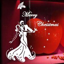 60cm /120cm Dancing Couple Christmas Waterproof Wall Show Shop Window Sticker