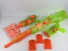 Nerf Longstrike cs-6 + BARRICATA rav-10 + MAVERICK + 3x Mags + 45x AMMO ~ RARA!