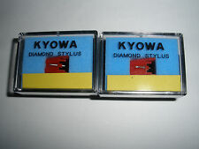 A Pair of KYOWA Replacement Diamond Styli for Sanyo ST09D