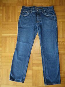 Jeans, Herren, blau, Größe 34 / 32, Knowledge Cotton, Bio-Baumwolle, öko,