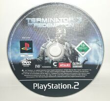 TERMINATOR 3 THE REDEMPTION - PlayStation 2 PS2 Play Station Game Bambini Gioco