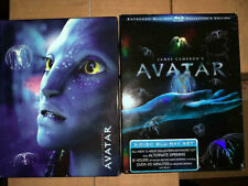 Avatar (Blu-ray Disc, 2010, 3-Disc Set, Extended Collector's Edition) DigiBook