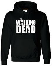 Black - Royal Blue The Walking Dead Adults Hoodie Unisex Hoody  Zombies