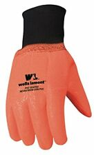 Wells Lamont Men's 1 Size Fits All PVC Coated Cotton Chemical Resistant  Glove