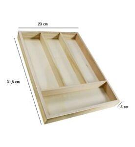cassetto portaposate legno porta posate da tavolo portatile pic nic picnic set