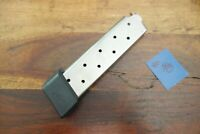 Colt 1911 1911A1 Magazine Chip McCormick Good Shape Capacity 10 Stainless