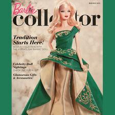 BARBIE COLLECTOR Catalog Magazine HOLIDAY 2011 Celebrity DOLLS Tokidoki