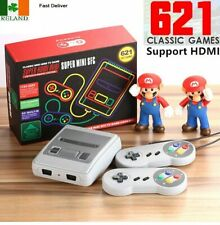 621 Games in 1 Classic Mini Game Console for NES Retro TV HDMI Gamepads