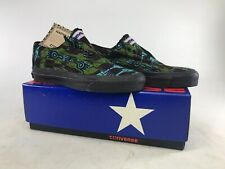 Rare Converse Vintage Usa Skidgrip Low African Print Shoes Size Boys 3/Womens 5