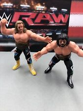 FREEBIRDS MICHAEL HAYES JIMMY GARVIN WCW UK Galoob Wrestling Action Figure Belts