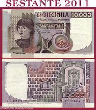 ITALIA ITALY 10.000 10000 LIRE BUSTO D'UOMO CASTAGNO 1980 P 106b  SPL++ / QFDS